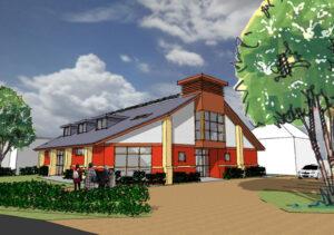 Community Centre: Ringlestone Hall, Maidstone, Kent 1