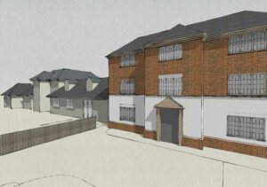 Cedarwood Residential Care Home: Scheme for 15 room extension, Spinney Hill, Northampton 1