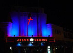 Conversion of Art Deco cinema to theatre and church centre: Northampton 2
