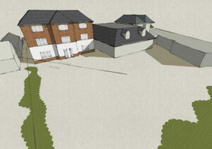 Cedarwood Residential Care Home: Scheme for 15 room extension, Spinney Hill, Northampton 2