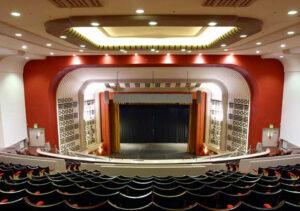 Conversion of Art Deco cinema to theatre and church centre: Northampton 3