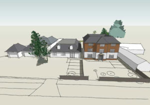 Cedarwood Residential Care Home: Scheme for 15 room extension, Spinney Hill, Northampton 3