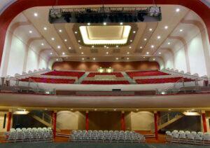 Conversion of Art Deco cinema to theatre and church centre: Northampton 4