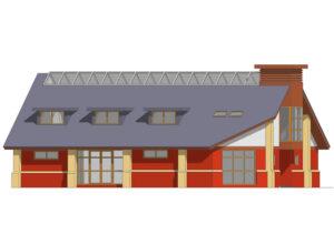 Community Centre: Ringlestone Hall, Maidstone, Kent 4
