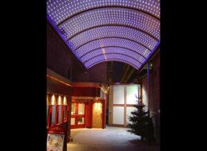 Conversion of Art Deco cinema to theatre and church centre: Northampton 7