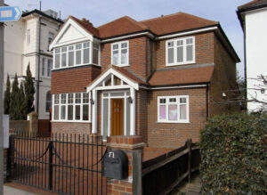 Side extension: Chiswick, London 1