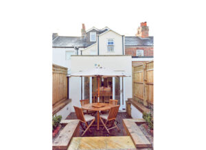 Complete rebuild of terrace dwelling retaining only front facade: Grove Street, Summertown, Oxford 5