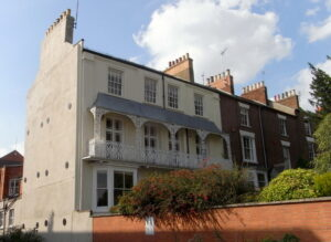 Refurbishment and extension of listed building: Northampton 1