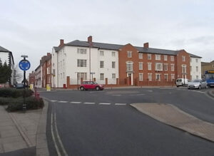 New build flats, Daventry: For Bedfordshire Pilgrims HA 3