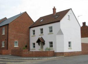10 Dwellings on site of Leyland Farm: Gawcott, Buckinghamshire 2