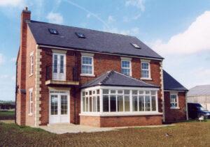 New Farm House: Caldecott, Rutland 1