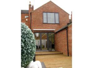 Dominic's Salon – redevelopment of period terrace: Harborough Road, Northampton 1