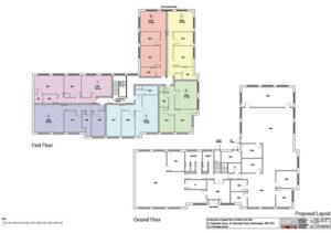Office conversion to flats: St Edmunds House, Northampton 3