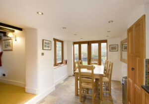 Renovation and extension of cottage: Main Street, Maids Moreton, Buckinghamshire 3