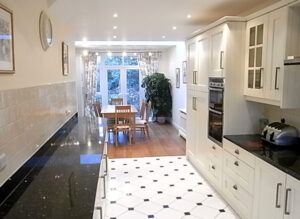 Side extension: Chiswick, London 3