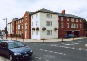 New build flats, Daventry: For Bedfordshire Pilgrims HA 1
