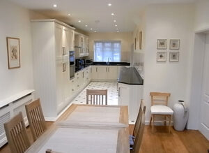 Side extension: Chiswick, London 4